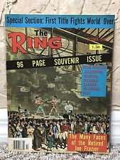 THE RING BOXING VINTAGE MAGAZINE OLD-TIMERS PAINTING October 1976 MINT UNREAD