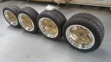17 x 8 & 10 OS Star wheel/tyre package LH LX Torana HQ HZ Falcon XA XB XC coupe