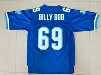 BILLY BOB #69 Varsity Movie Football Jersey Stitched Blue S-3XL