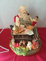Lighted Musical Centerpiece Jinglebells  Santa's workshop
