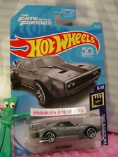 Fate Furious ICE CHARGER #79✰Satin Gray🎬SCREEN TIME🎬2018 Hot Wheels USA case D