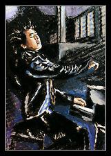 Lang Lang Lithografie von Volker Welz signiert Pianist Piano Klavier Symphoniker