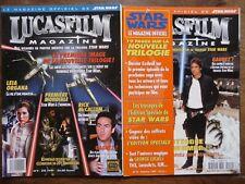 2 NUMEROS LUCASFILM STAR WARS FILMS SCIENCE FICTION 1997 N° 9 ET N° 10
