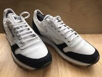 Kendrick Lamar Reebok UK 10 EUR 44.5 Mens Low Top Trainers Gum White Black Shoes
