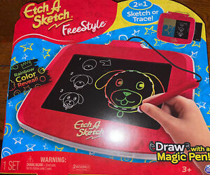 Etch A Sketch - Freestyle Drawing Pad with Stylus and Stampers -NEW-SEALED