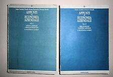 Cavalieri-Ranalli#APPUNTI DI ECONOMIA AZIENDALE#Edizioni Kappa 1994-1995 2 VOLL.