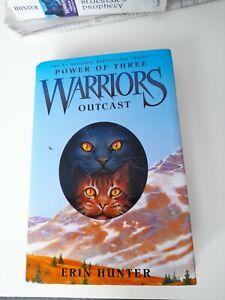 Warriors: Power of Three: Pt. 3: Outcast by Erin Hunter (Hardback, 2008)