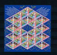 [17035] Netherlands Niederlande 1993 Christmas Sheet MS MNH