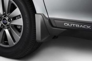 Splash Guards: Front, Subaru Outback 2015 onwards model