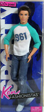 Fashionistas Sporty Ken Doll in 1961 Shirt 2010, NO BOX - 96982