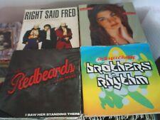 "Job lot  70 x 7"" vinyls with sleeves (choose from list in desc.)  last few left"