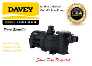 Davey SureFlo Swimming Pool Pump - DSF1100 - Retro Fits ONGA LTP/PPP 3 year WTY