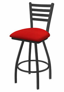 """Holland Bar Stool Co. XL 410 Jackie 25"""" Swivel Counter Stool with Pewter Fini..."""