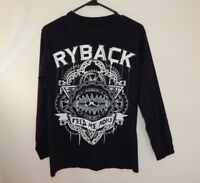 Ryback Feed Me More WWE WWF Wrestling Long Sleeve Shirt Size Small S