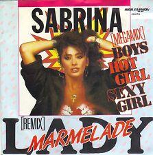 "SABRINA - LADY MARMALADE SEXY 12"" PICTURE SLEEVE SINGLE (Dutch high fashion)"
