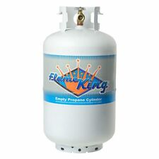 30 Lb. Vertical Propane Cylinder Refillable Steel tank with OPD Valve (Empty)