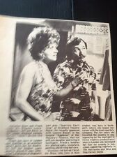 67-3 Ephemera 1974 Picture Lwt TV Don't Drink The Water Christine Shaw F Coda