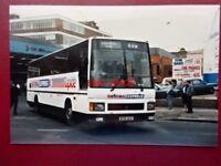 PHOTO  CROSVILLE LEYLAND TRCTL11/3RZ  BUS REG B139 ACK (2)AT DIGBETH 1988