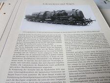 Deutsches Eisenbahn Archiv 13 Loks 3257 Franco Crosti Speisewasservorwärmung