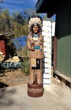 Cigar Store Wooden Indian Us Native American Sculptures 1935 Now