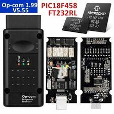 OPEL OP COM V1.99! Vauxhall OBD2 Diagnostic Code Reader Scanner Tool YT