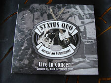 Slip Double: Status Quo : Accept No Substitute Live In Concert London O2 2015
