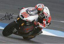Alex De Angelis Hand Signed 2014 Moto2 Tasca Racing Suter 12x8 Photo 8.