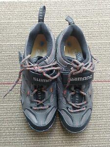 Shimano SH-WM43 Womens Size EU 37 US 5.5 Gray Cycling Touring Shoes NWOB