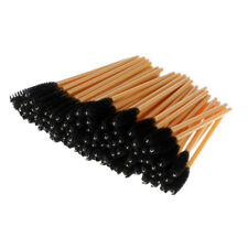 100 Disposable Eyelash Brush Mascara Wands Curel Lash Extension Applicators