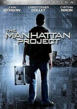 The Manhattan Project - John Lithgow, Christopher Collet, Cynthia Nixon - DVD