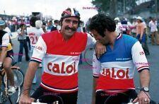 Mario Andretti & CLAY REGAZZONI f1 Ritratto GRAN PREMIO DEL BRASILE FOTOGRAFIA 1977