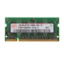 Hynix 1GB 2RX16 PC2-5300S DDR2 667Mhz 1.8V 200pin Laptop SODIMM Notebook Memory