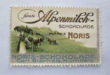 German Poster Stamp - Chocolates