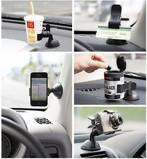 360°Car Holder Windshield Mount Bracket For Cell Phone iPhone Samsung GPS WA