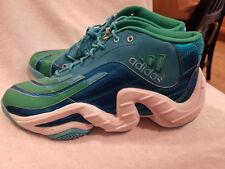 best sneakers d0ea8 4f411 Adidas Real Deal Teal   White Model   Q32864 Men s Sz 10 Damian Lillard