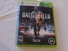 Battlefield 3 III Microsoft Xbox 360 2011 2 disc game mature EA games