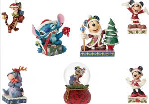 Jim Shore Disney Traditions Christmas Figurine Ornament Decoration New Licensed