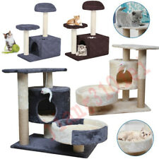 Cat Tree Scratching Condo Tower Furniture Scratch Post Pet House for Kitten Us