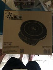 Nuwave Precision Induction Cookware 1300 Watts Model 30101 Black Cook Top MINTY