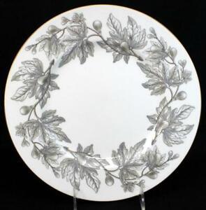 Wedgwood ASHFORD GRAY Dinner Plate Bone China W4106 VERY GOOD CONDITION