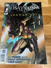 Batman Arkham City #1 - Condition very good & Bagged First Issue