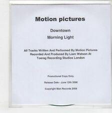 (GS463) Motion Pictures, Downtown / Morning Light - 2006 DJ CD