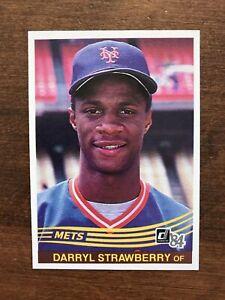 Darryl Strawberry 1984 Donruss Rookie #68 New York Mets RC