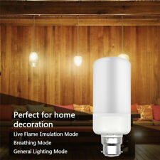 Lampadina B22 5W LED SMD 1300K Lampada da Fuoco con Torcia a Luce di Mais FD1