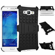 Heavy Duty Tough Tank Armour Hard Case Cover Ultra Protective Shockproof Red for Samsung Galaxy A5 2016