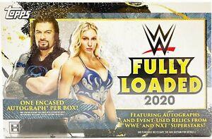 2020 TOPPS WWE FULLY LOADED WRESTLING HOBBY BOX FACTORY SEALED NEW