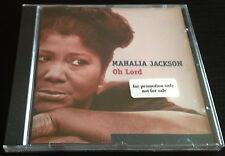 Mahalia Jackson Oh Lord CD sealed Germany 24 tracks 1998