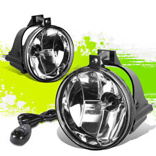 CLEAR LENS OE BUMPER DRIVING FOG LIGHT+SWITCH PAIR FOR 03-05 DODGE NEON SRT-4