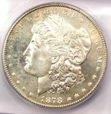 1878-S Morgan Silver Dollar $1 - ICG MS66+ PL Obverse, Plus Grade - $1,700 Value