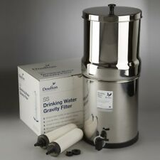 Doulton British Berkefeld Stainless Steel Gravity Water Filter System